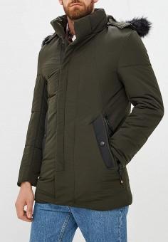 d30db20033c63 Куртка утепленная, Just Key, цвет: хаки. Артикул: JU016EMCRBC0. Just Key
