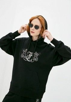 Худи, Juicy Couture, цвет: черный. Артикул: JU660EWMSZN8. Juicy Couture