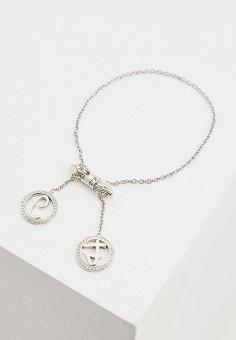 409f293b Браслет, Just Cavalli, цвет: серебряный. Артикул: JU662DWEXMH5. Аксессуары  / Украшения