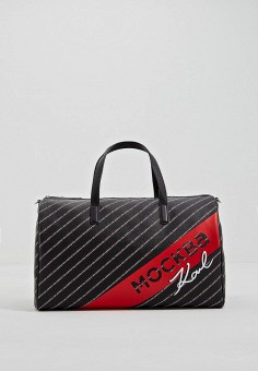 4fc48a2a5ee6 Сумка дорожная, Karl Lagerfeld, цвет: черный. Артикул: KA025BWEGPO6.  Premium /