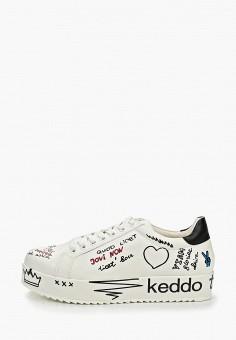 c62f7acea Кеды, Keddo, цвет: белый. Артикул: KE037AWEKIH8. Обувь