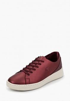 e355081c1b90 Кеды, Lacoste, цвет  бордовый. Артикул  LA038AWCMSS5. Обувь   Кроссовки и