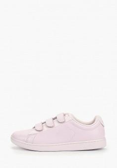 3ce9d097e Кеды, Lacoste, цвет: фиолетовый. Артикул: LA038AWELUS5. Обувь / Кроссовки и