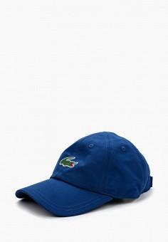 50e7dd226af3 Бейсболка, Lacoste, цвет  синий. Артикул  LA038CUAVNH5. Аксессуары   Головные  уборы