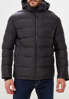 Куртка утепленная, Lacoste, цвет  черный. Артикул  LA038EMCRMS1. Одежда    Верхняя 5ee3e6c855c