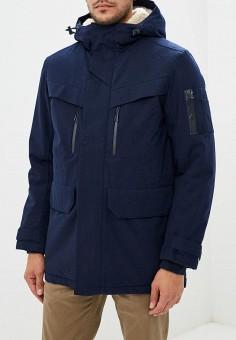 Куртка утепленная, Lacoste, цвет  синий. Артикул  LA038EMCRMZ8. Одежда 9ea4ac192a2