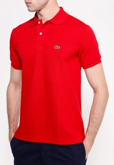 5de2ec9d25a1 Поло, Lacoste, цвет  красный. Артикул  LA038EMEJF02. Одежда   Футболки и