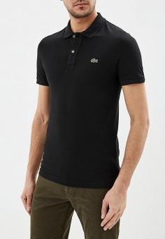 799b92686df7f Поло, Lacoste, цвет: черный. Артикул: LA038EMELRR0. Одежда / Футболки и