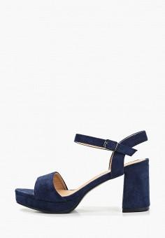 418894ac4 Босоножки, La Bottine Souriante, цвет: синий. Артикул: LA062AWETDF5. Обувь /
