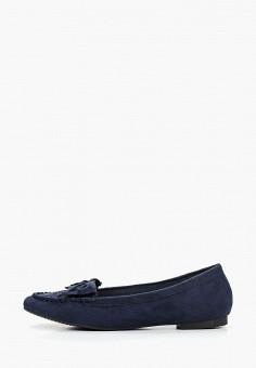 b91a1a64 Мокасины, La Bottine Souriante, цвет: синий. Артикул: LA062AWFERR1. Обувь