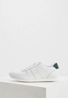 861c9dca4 Кроссовки, Lauren Ralph Lauren, цвет: белый. Артикул: LA079AWFDPW1. Обувь