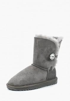 02e38e845 Полусапоги, Lambface, цвет: серый. Артикул: LA093AWGSV09. Обувь / Сапоги /
