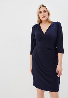 31e674ff86db6 Платье, Lauren Ralph Lauren Woman, цвет: синий. Артикул: LA097EWEYBH6.  Одежда