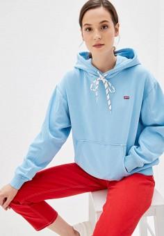 4d766362212ba Худи, Levi's®, цвет: голубой. Артикул: LE306EWFOXK1