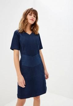 Платье, Lee, цвет: синий. Артикул: LE807EWBOGO6. Одежда / Платья и сарафаны
