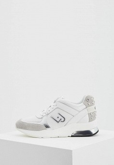 Кроссовки, Liu Jo, цвет  белый. Артикул  LI687AWAEQO3. Обувь   Кроссовки fdd6cc0b28f