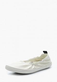 4d035d3e7665 Балетки, LOST INK, цвет  белый. Артикул  LO019AWARLD2. Обувь   Балетки