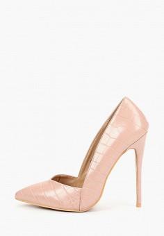 c0c625367556 Туфли, LOST INK, цвет  розовый. Артикул  LO019AWCDVO6. Обувь   Туфли
