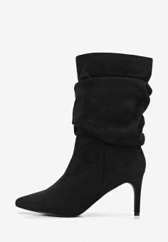 a7feb70b09a8a9 Сапоги, LOST INK, цвет: черный. Артикул: LO019AWDSFG4. Обувь / Сапоги