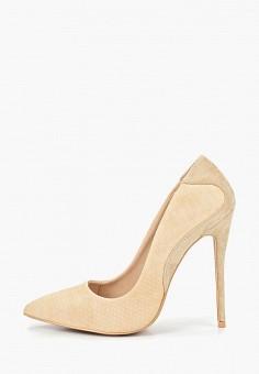 Туфли, LOST INK, цвет  бежевый. Артикул  LO019AWDSFG8. Обувь   Туфли f5571707dc3