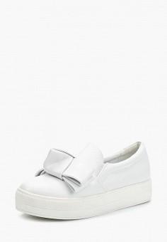 Слипоны, LOST INK, цвет  белый. Артикул  LO019AWZSK57. Обувь   Слипоны 23b6c7c51e2