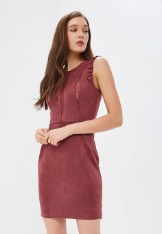 7f65732e7812aa9 Платье, Love Republic, цвет: бордовый. Артикул: LO022EWDUGV1. Одежда /  Платья