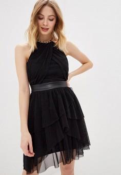 6c5b76508306384 Платье, Love Republic, цвет: черный. Артикул: LO022EWDUHY3. Одежда / Платья