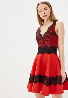 fe3357d7fd1eac8 Платье, Love Republic, цвет: красный. Артикул: LO022EWESFE2. Одежда / Платья