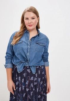 2b80e76b Рубашка джинсовая, LOST INK PLUS, цвет: синий. Артикул: LO035EWDJSO0. Одежда