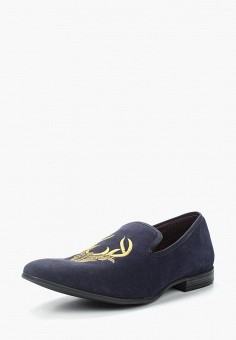 Лоферы, London Brogues, цвет: синий. Артикул: LO039AMUUD82. Обувь