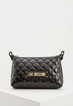 3870a170695d Сумка, Love Moschino, цвет: черный. Артикул: LO416BWDRJL4. Аксессуары /  Сумки