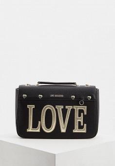72863c1aeed7 Сумка, Love Moschino, цвет: черный. Артикул: LO416BWEDAY5. Love Moschino