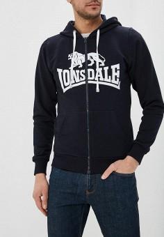 d1d70582 Толстовка, Lonsdale, цвет: черный. Артикул: LO789EMETCW7. Одежда / Толстовки  и