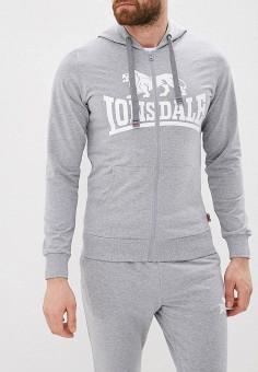 296d342a Толстовка, Lonsdale, цвет: серый. Артикул: LO789EMFDSJ8. Одежда / Толстовки  и