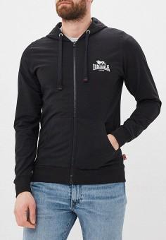 5f29008c Толстовка, Lonsdale, цвет: черный. Артикул: LO789EMFDSJ9. Одежда / Толстовки  и