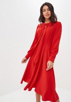 e22d34c592cfe Платье, Lusio, цвет: красный. Артикул: LU018EWDVPM8. Одежда / Платья и