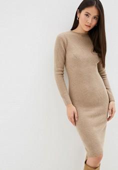 f96cdf765f22b1 Платье, Lusio, цвет: бежевый. Артикул: LU018EWFOJX7. Одежда / Платья и