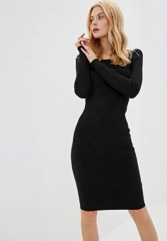 6c538bcc076222 Платье, Lusio, цвет: черный. Артикул: LU018EWFOJY2. Одежда / Платья и