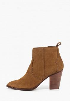 167dab275030 Ботильоны, Mango, цвет  коричневый. Артикул  MA002AWDOFE6. Обувь   Ботильоны