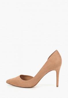 2d8bcdf700251 Туфли, Mango, цвет: бежевый. Артикул: MA002AWDOFL8. Обувь