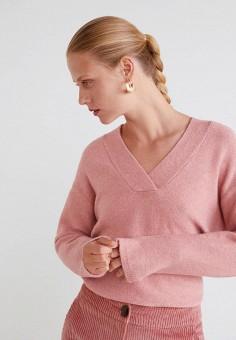 3d6ebc1a2722 Пуловер, Mango, цвет  розовый. Артикул  MA002EWDIMC2. Одежда   Джемперы,