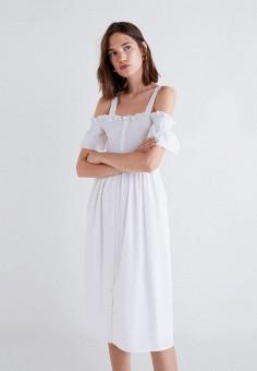b11ee1a2fd9 Купить повседневные платья с открытыми плечами MANGO от 699 грн в ...