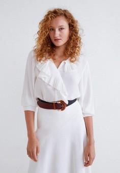 Купить блузы с рюшами и воланами MANGO от 1 299 руб в интернет ... f95f141a396
