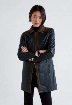 69673225dea1 Куртка кожаная, Mango, цвет  черный. Артикул  MA002EWEBZG4. Одежда   Верхняя