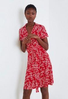 0842e67554fdb5c Платье, Mango, цвет: красный. Артикул: MA002EWEOES9. Одежда / Платья и