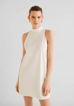 05d99047583feba Платье, Mango, цвет: белый. Артикул: MA002EWFEGN0. Одежда / Платья и