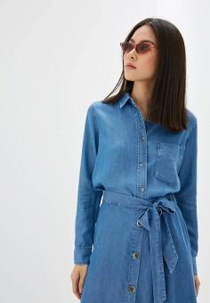 f3478f2d Рубашка джинсовая, Mango, цвет: синий. Артикул: MA002EWFOGH2. Одежда / Блузы