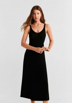 162e48e03efb Платье, Mango, цвет: черный. Артикул: MA002EWFXBS5. Одежда