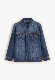 112633b6c512 Куртка джинсовая, Mango Kids, цвет  синий. Артикул  MA018EBEBZT2. Mango Kids