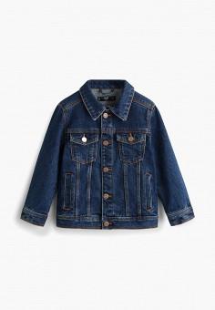97a393887000a53 Куртка джинсовая, Mango Kids, цвет: синий. Артикул: MA018EBFRAZ3. Mango Kids